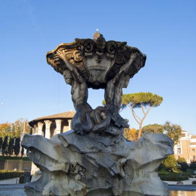 κρήνη των Τριτώνων (fontana dei tritoni)