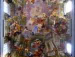 Ο ναός του Σαντ' Ινιάτσιο ντι Λογιόλα, trompe l'œil του μπαρόκ