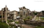Ομφαλός της Ρώμης, αφετηρία οδών