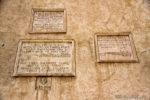Εντοιχισμένες πλάκες, μαρτυρίες από το παρελθόν