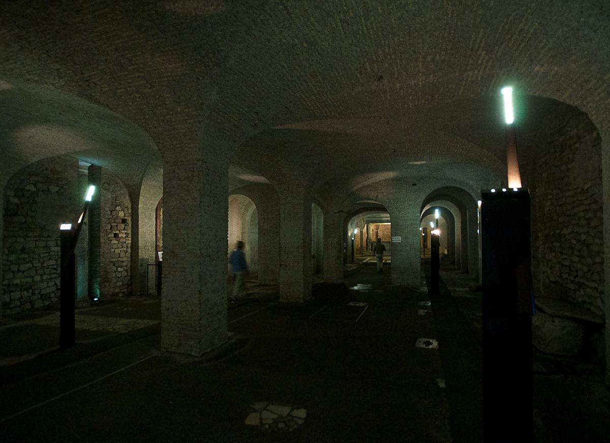 Η υπόγεια παλαιοχριστιανική βασιλική