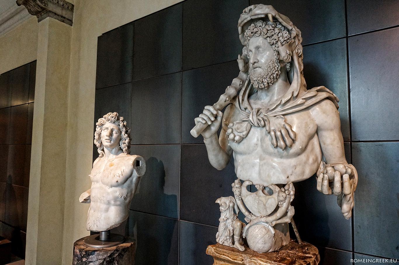 Η θεοποίηση του αυτοκράτορα Κόμμοδου σαν νέος Ηρακλής