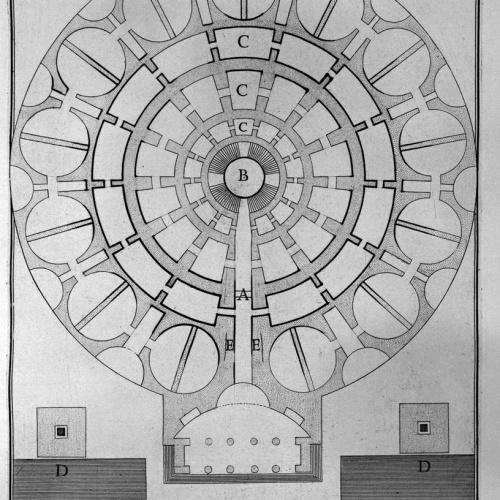 Σχέδιο του μαυσωλείου