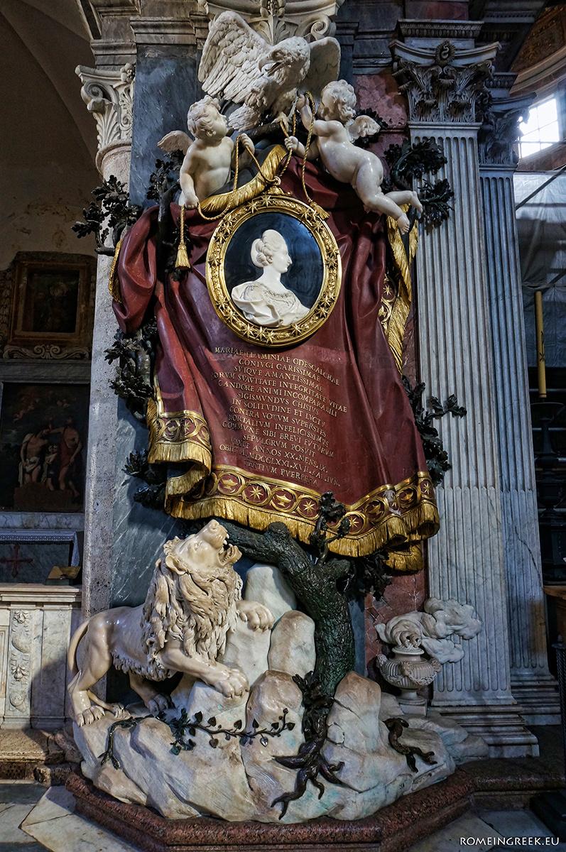Τάφος Μαρίας Φλαμινίας Οντεσκάλκι-Κίτζι