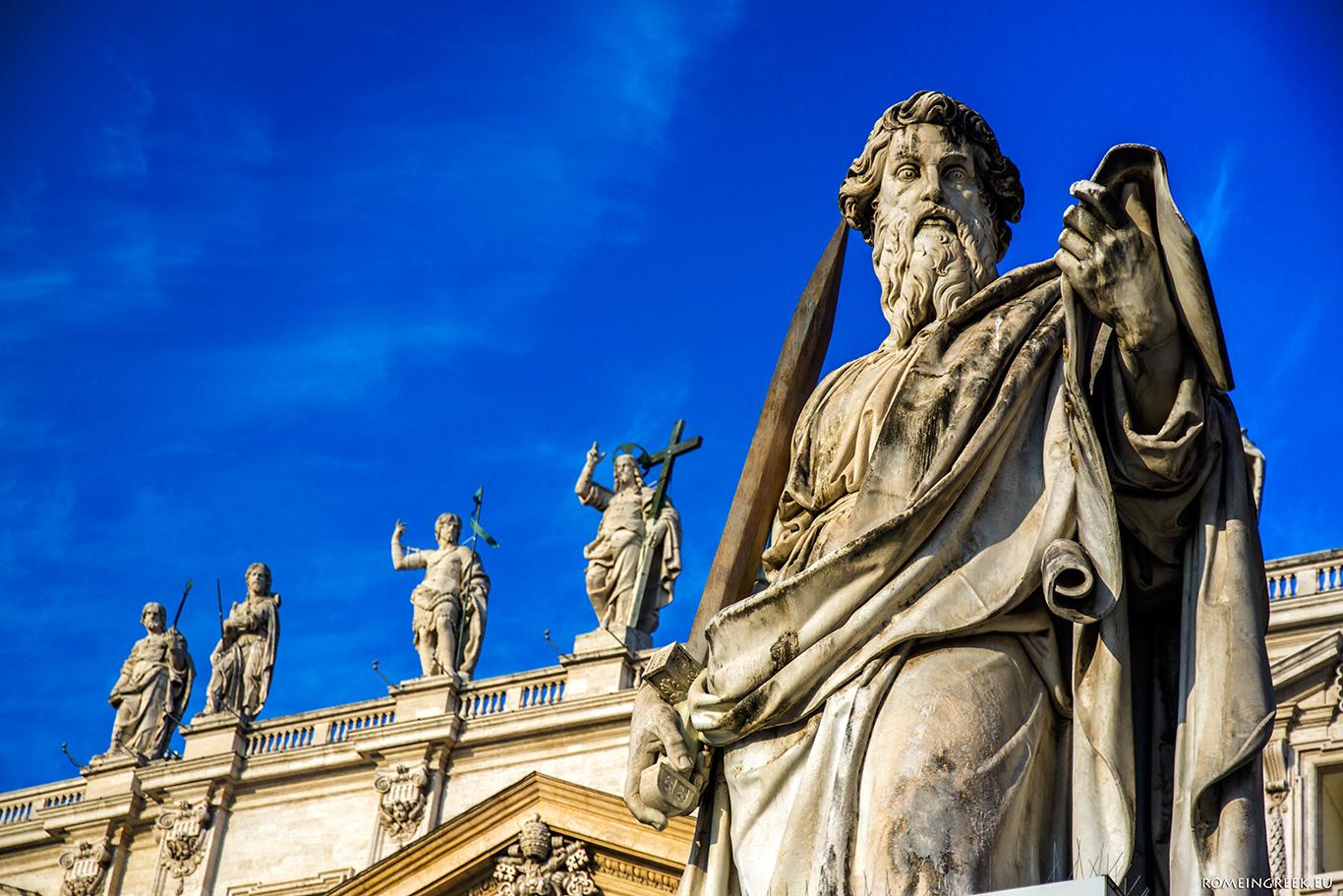 Το άγαλμα του Παύλου