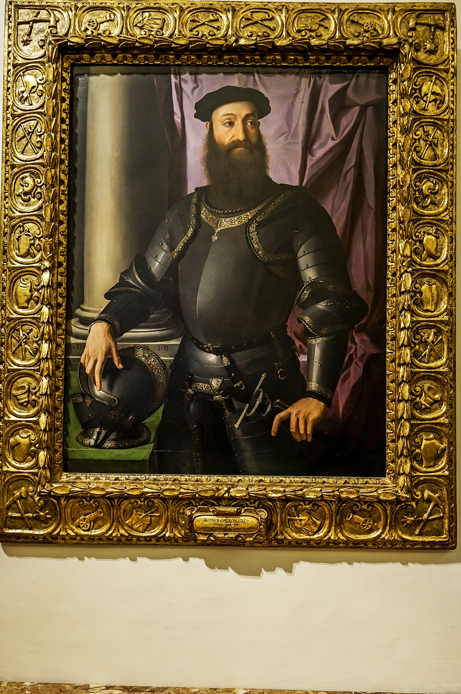 Μπροντζίνο, «πορτραίτο του Στέφανου Σιάρα-Κολόνα»