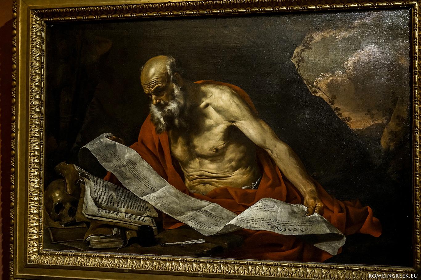 Hendrick van Somer, «Άγιος Ιερώνυμος»