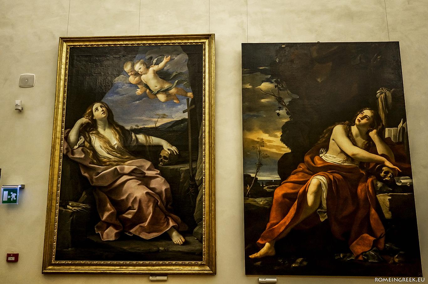 Δύο Μαγδαληνές (Guido Reni - Simon Vouet)