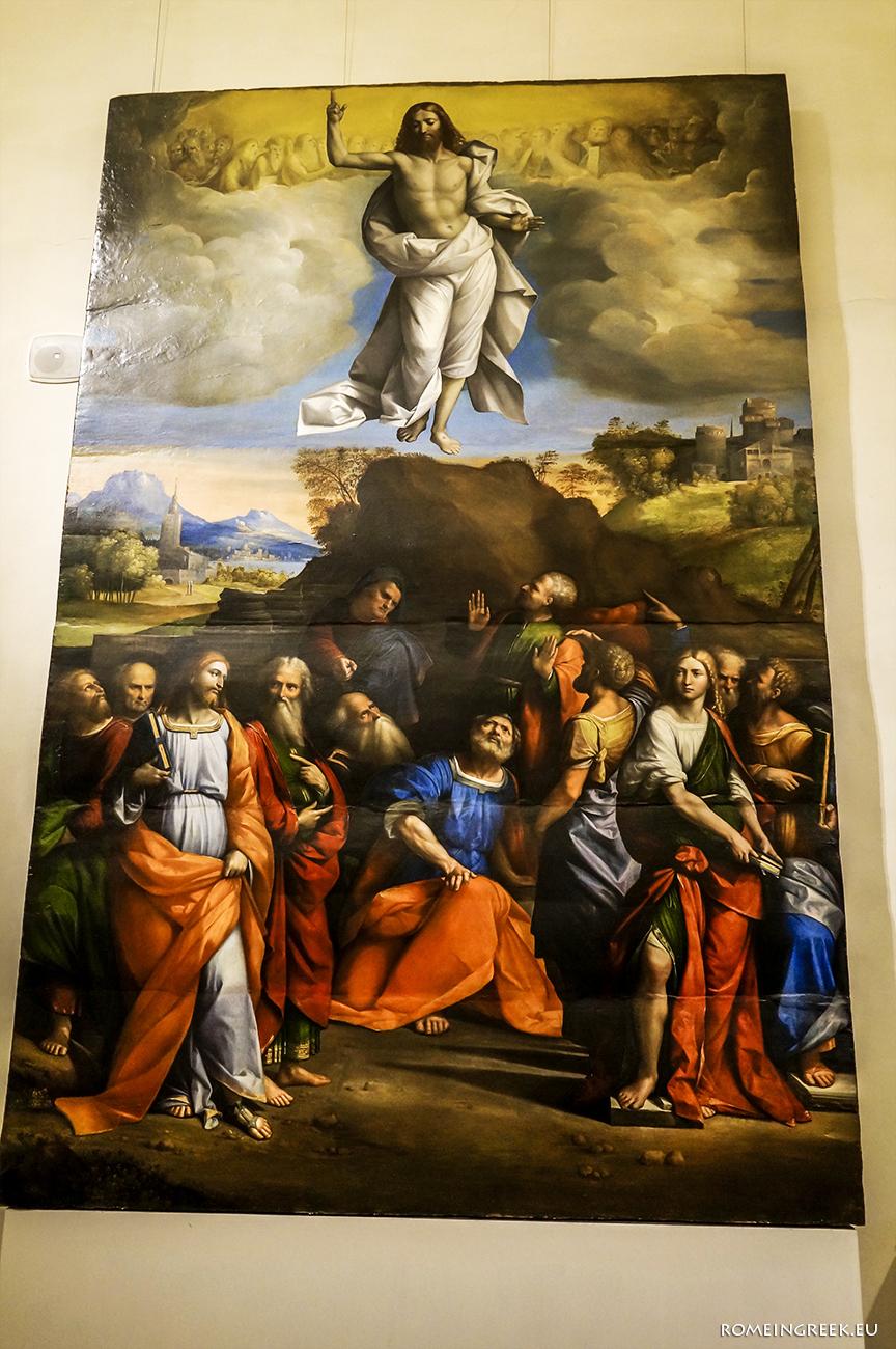 Γκαρόφαλο, «Η Ανάληψη του Χριστού»
