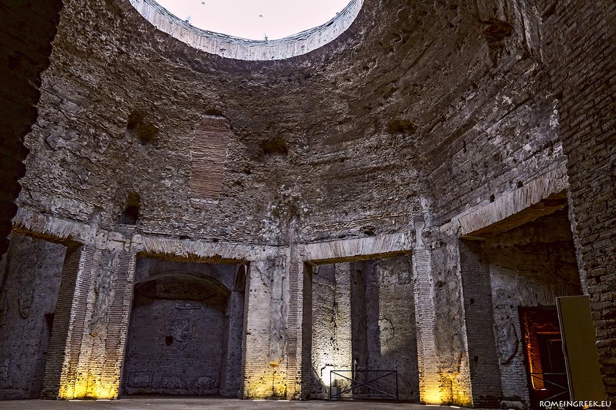 Domus Aurea, οκταγωνική αίθουσα