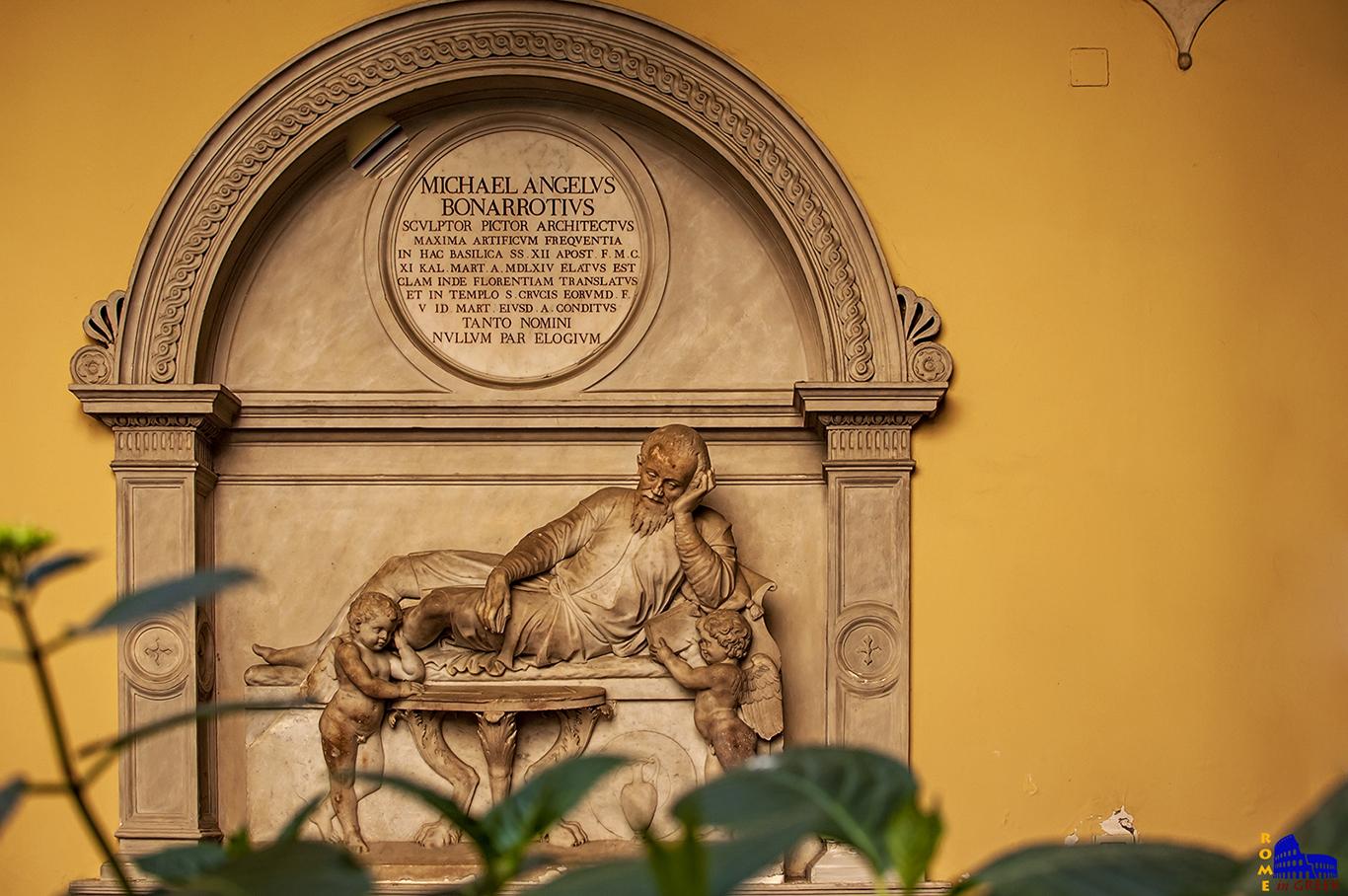 Το κενοτάφιο του Μιχαήλ Άγγελου στην Ρώμη