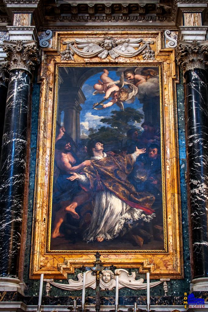 Pietro da Cortona: «Μαρτύριο του Αγίου Λαυρεντίου»