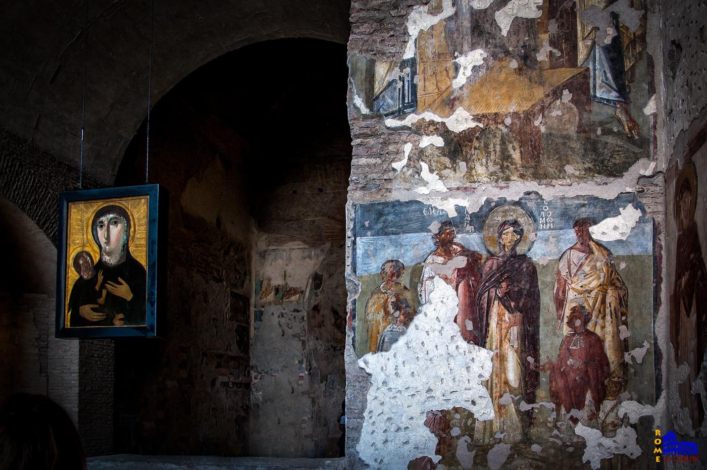 Η Αγία Σολομονή, μητέρα των Αγίων Επτά Μακκαβαίων που μαρτύρησαν στην Συρία επί Αντιόχου και ο διδάσκαλός τους Ελεάζαρος.