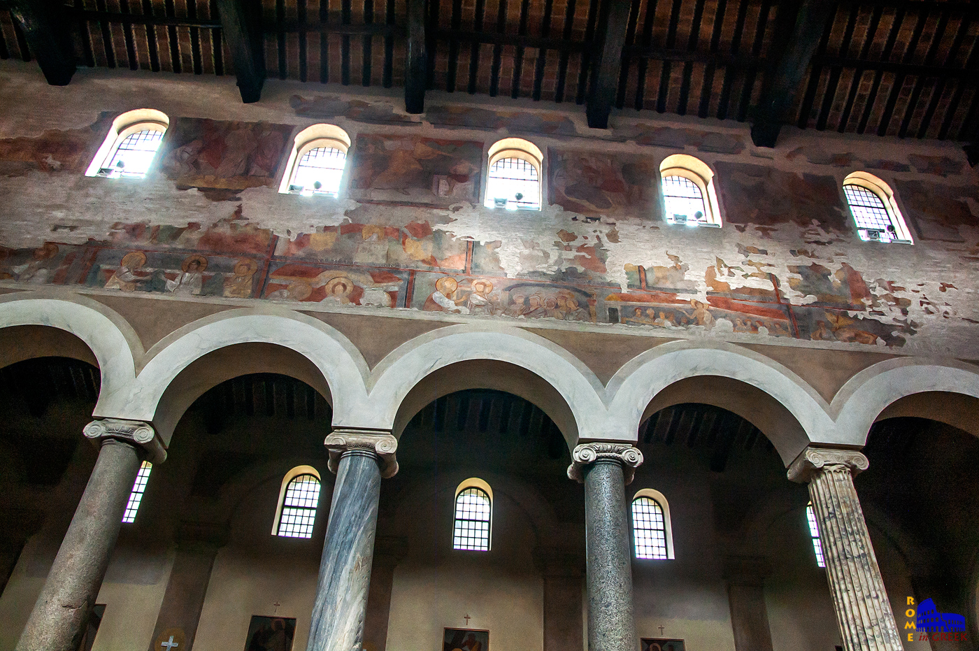 Μεσαιωνικές τοιχογραφίες