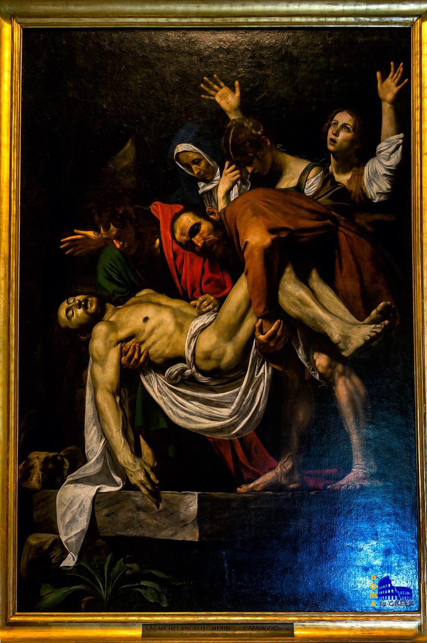 Caravaggio, «Αποκαθήλωση»