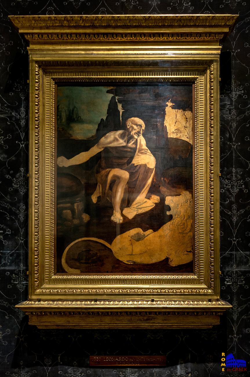 Leonardo da Vinci, «Άγιος Ιερώνυμος»