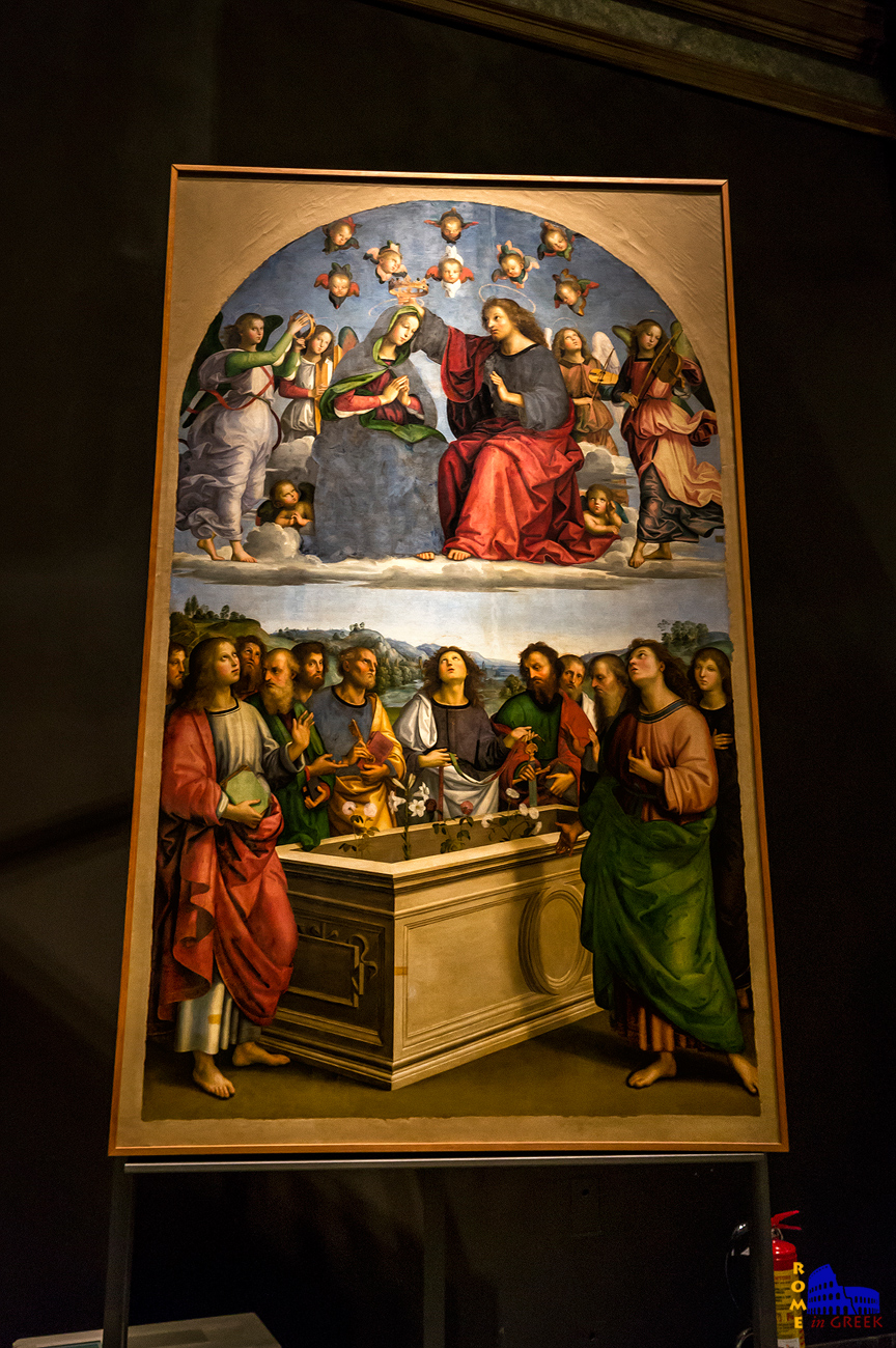 Raffaello,  «Στέψη της Παναγίας»