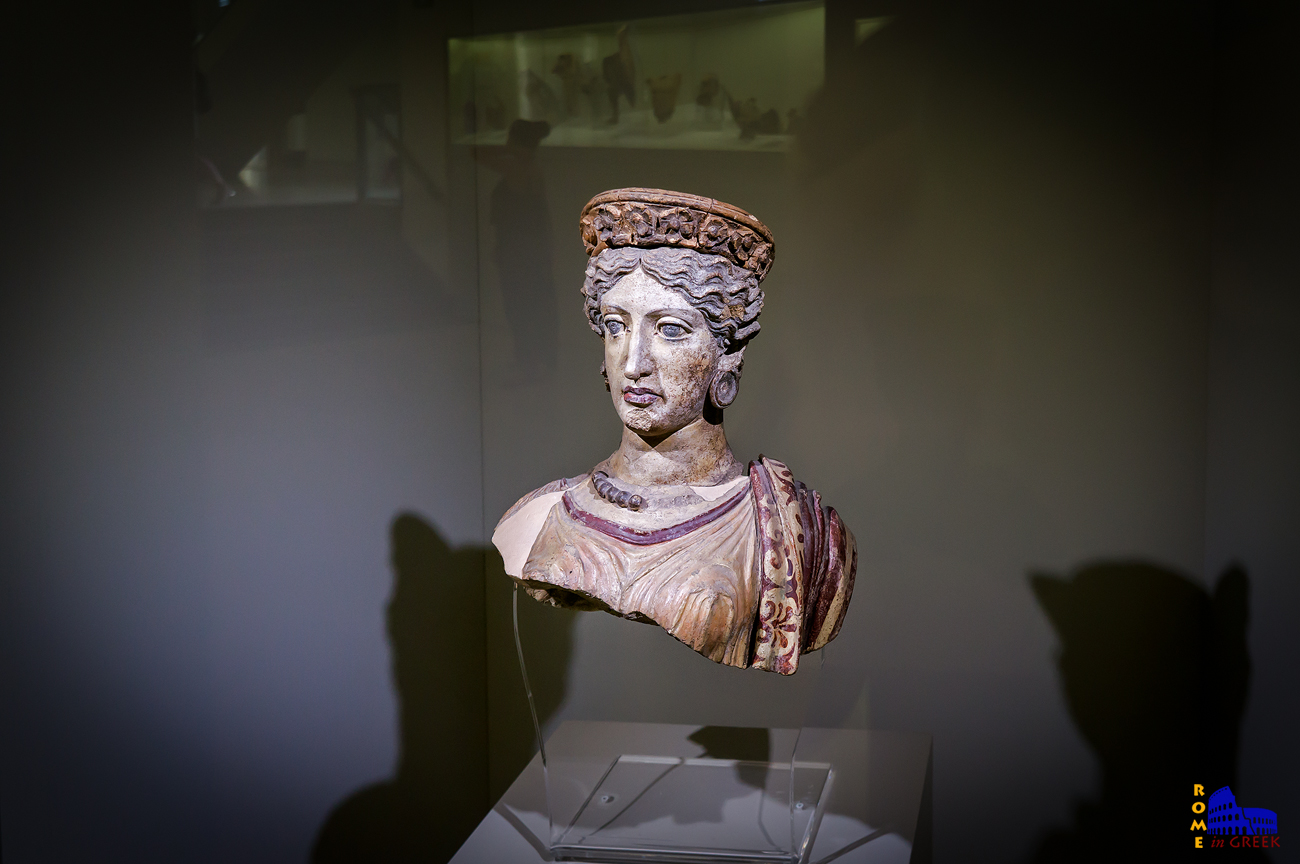 Ομοίωμα της Γιούνο (αντίστοιχη της Ήρας), συζύγου του Γιούπιτερ (Ζευς).