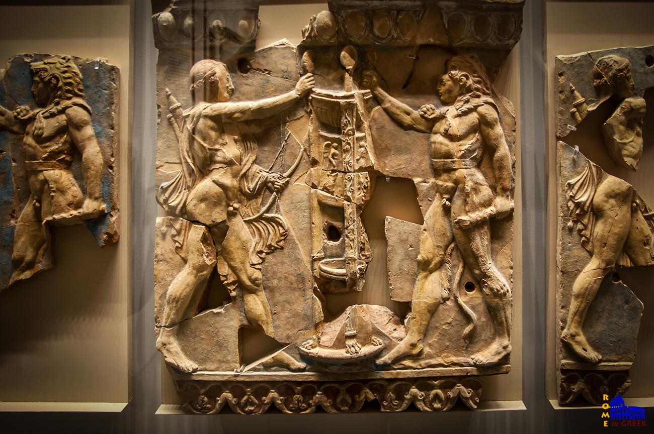 «Διαμάχη Ηρακλή και Απόλλωνα για το δελφικό τρίποδα»