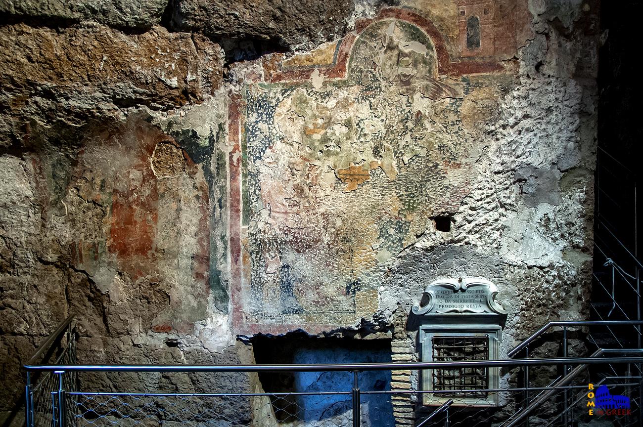 Παλαιοχριστιανική τοιχογραφία