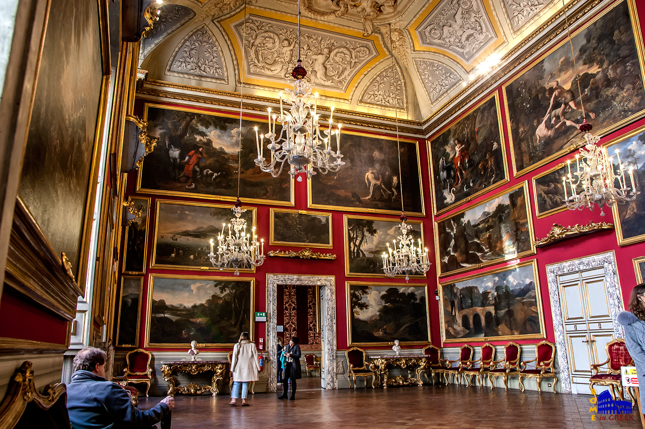 Σαλόνι Πουσέν, με πίνακες τοπίων