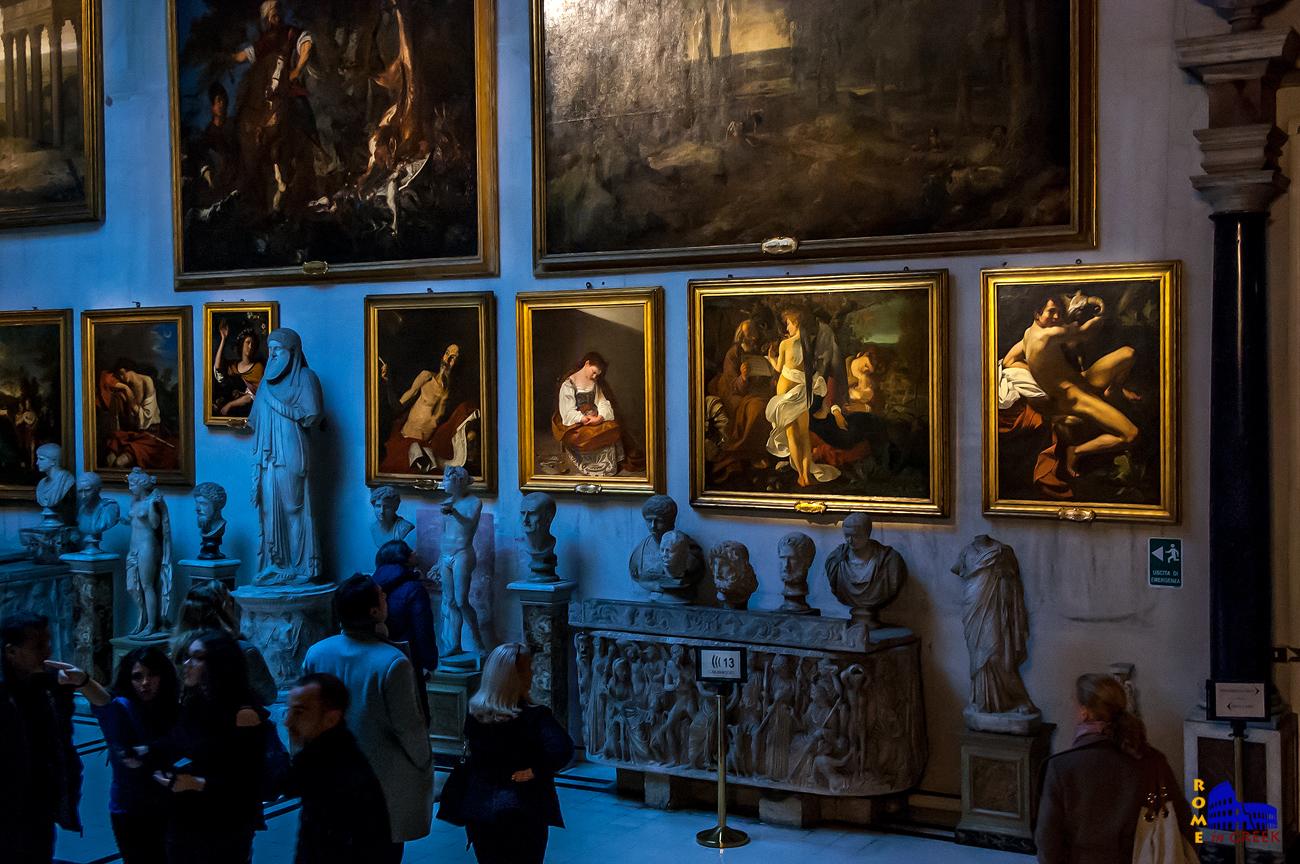 Τα τέσσερα έργα του Caravaggio