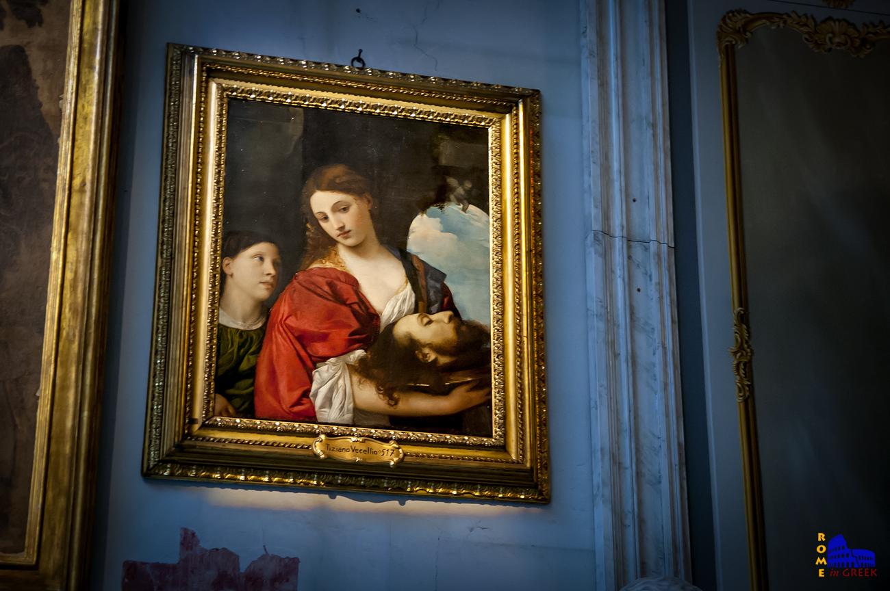 Tiziano: «Η Σαλώμη με την κεφαλή του Προδρόμου»