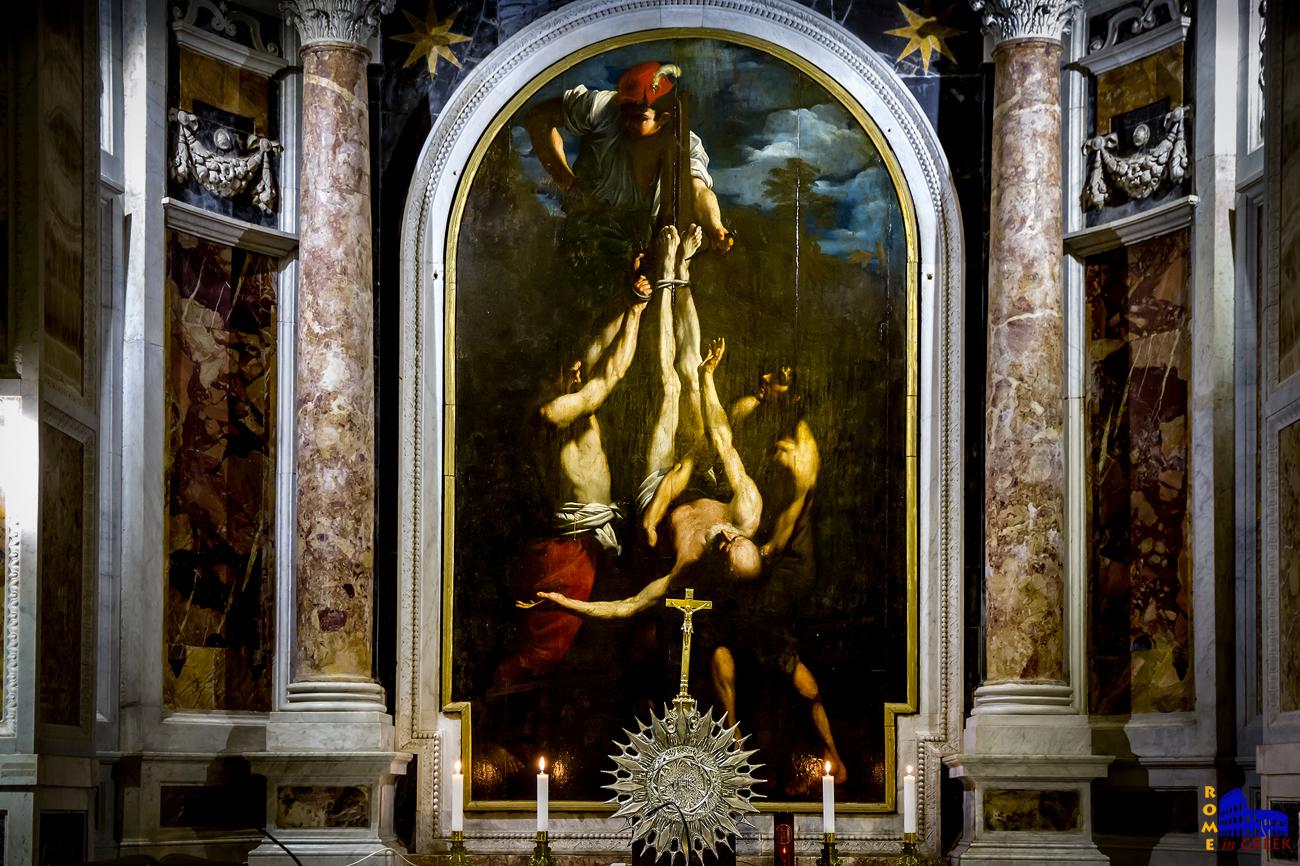 Guido Reni, «Σταύρωση Αγ. Πέτρου»