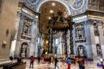Τα κειμήλια των τεσσάρων πυλώνων του θόλου του Αγίου Πέτρου