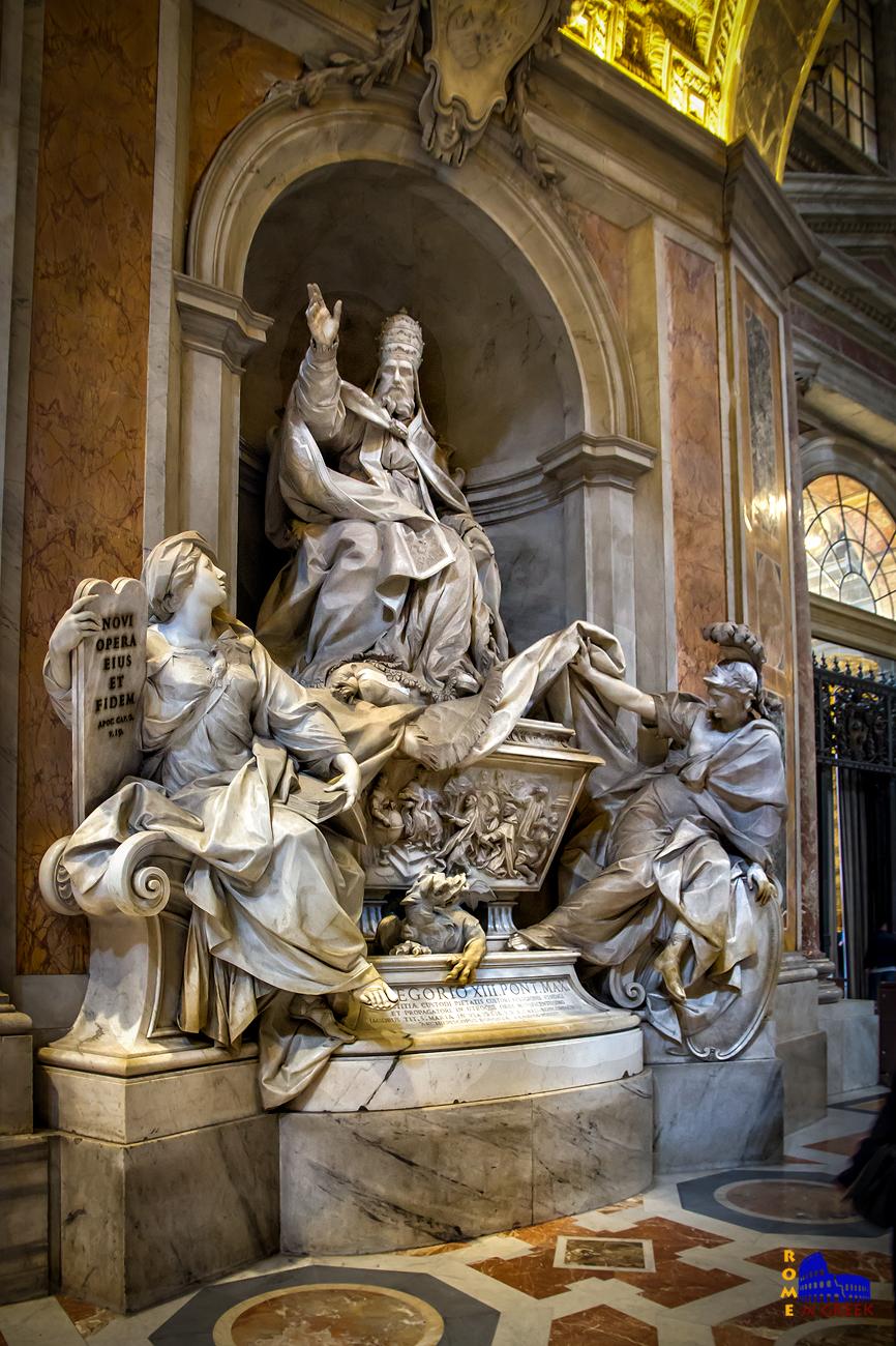 Tomba Gregorio XIII